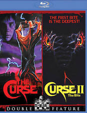 THE CURSE & CURSE 2 II THE BITE DOUBLE FEATURE BLURAY OOP NEW SCREAM FACTORY