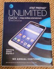 New listing Att At&T Samsung Galaxy Express 3 4G Lte 8Gb Smartphone Sm-J120A New Unlocked