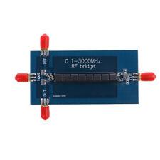0.1- 3000MHz RF SWR Reflection Bridge VHF VSWR Return Loss Antenna Analyzer