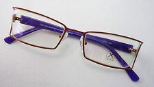 Optix Brillenfassung kupfer-lila Metallgestell Herrenrahmen Damenbrille size S