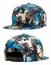 Cool Men Women Beach Coconut Tree Snapback Adjustable Baseball Cap Hip Hop Hat