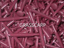 (6-150 pcs) Bordeaux / Bulk/Vinyl Shutter-Lok Fasteners/Spike/Nail/Peg/ Pin
