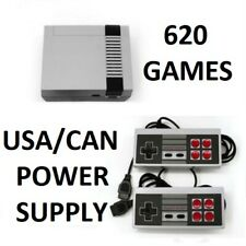 Built In 620 Mini Classic Game Retro NES Nintendo Game Console Game US/CAN Plug