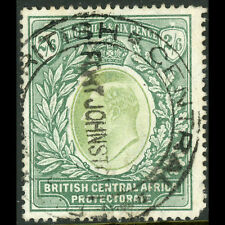 BRITISH CENTRAL AFRICA 1903-4 2s6d Grey Green & Green SG 63. CDS Used. (AT488)