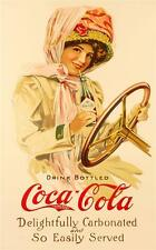 Drink Bottled Coca Cola Fine Art Poster Lithograph S2