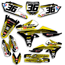 2010 2011 2012 2013 YZ 250F GRAPHICS KIT YZ250F YAMAHA MOTOCROSS DIRT BIKE DECAL