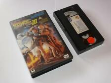 VHS Video ~ Back to the Future Part III ~ Large Case Ex-Rental ~ CIC Video