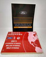 2011 Ford Fusion Mercury Milan Lincoln Mkz Hybrid Wiring Diagrams Service Manual Ebay