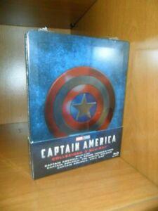 Captain America - 3 blu-ray - steelbook