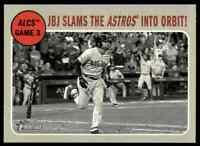 2019 Topps Heritage Jbj Slams The Astros Into Orbit! #200 NM-m ALCS Game 3 Card