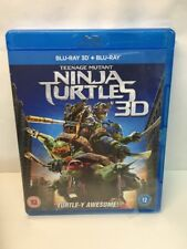 Teenage Mutant Ninja Turtles 3D - Blu-ray 2015 - Brand New Sealed. Freepost Uk.
