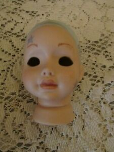 Painted Doll Head, Unknown Artist or Mold #, So Darn Cute