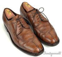 SUTOR MANTELLASSI Brown Leather Split Toe Oxford Dress Shoes - EU 42 / US 9