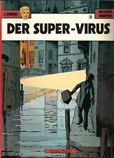 L.FRANK <DER SUPER-VIRUS> 1.AUFL. # 3/'81 CARLSEN VERLAG