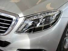 Mercedes W222 S Class Headlamp Headlight Chrome Surrounds