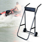 Outboard Boat Motor Trolley Stand Boat Engine Transport Wheel 70kg Load Capacity