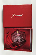 Baccarat Crystal Ornament Unicef 2005 in Box