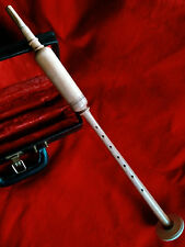 NEW BAGPIPE PRACTICE  LONG CHANTER  COCUS  WOOD  WITH THREE REEDS FREE