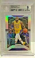 LeBron James 2019-20 Panini Silver Prizm #129 Lakers NBA BGS 9 Mint w/9.5 Subs