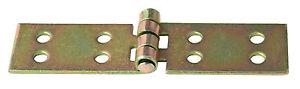 Tischband Scharnier Kistenband von 50-200 mm Beschläge gelb verzinkt