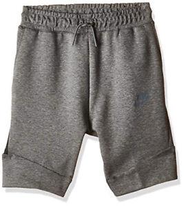 Nike Sportswear Boy's Tech Fleece Shorts 816280-093 Carbon Heather Grey Size S