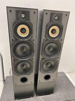Paradigm Reference Studio 100 Floor Standing Speakers In Black Cons Serial #