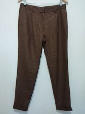Jenni Kayne 100% Wool Checkered Straight Pant Size 6