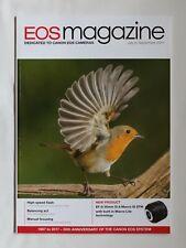 Canon EOS magazine Jul-Sep 2017 HI-Speed Flash/White Balance/Man. Focus/EF-S 35