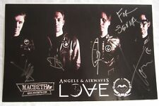 Angels and Airwaves Signed Poster Love AvA Blink 182 Tom Delonge  11 x 17 inch