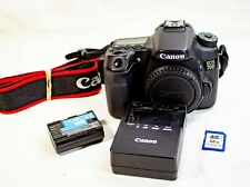 Canon EOS 70D 20.2MP Digital SLR Camera - Black (Body Only) Low Shutter Count