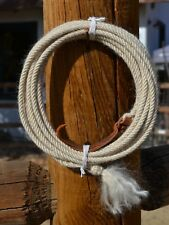 """Jose Ortiz 4 st x 1/4"""" Mohair Get Down Rope 16' - Natural"""