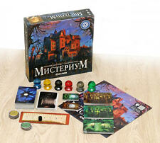 MYSTERIUM (Dixit+Cluedo Clue), New fantasy Ukrainian board game, English rules