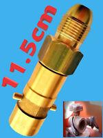 UK Bayonet LPG Filling Point Filler gas cylinder Bottle GERMAN POL Adapter
