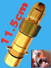 UK Bayonet LPG Filling Point Filler to Calor FLOGAS Bottle GERMAN POL Adapter