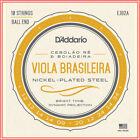 D'Addario EJ82A Viola Brasileira Set, Cebolao Re and Boiadeira 10-String Set for sale