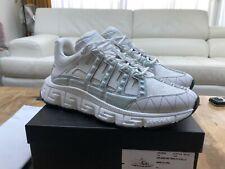 Versace White Trigreca Sneaker New