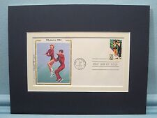 Winter Olympics -  Pairs Figure Skating & First Day Cover of its own stamp