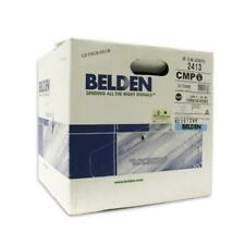 Belden 2413 Cat 6 FT6 Plenum Cable Blue