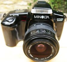 Minolta Dynax 5000i 35mm Film camera with Sigma 35-70 f1:3.5-4.5 zoom lens