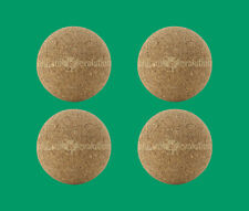 4 Cork Foosballs - Natural-Colored Cork Table Soccer Balls