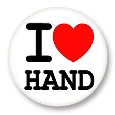 Magnet Aimant Frigo Ø38mm ♥ I Love You j'aime Sport Hand Handball