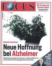 FOCUS Magazin - Heft 22/2016 vom 28.5.2016: Alzheimer  +++ wie neu +++