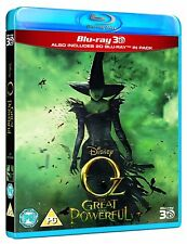 Oz The Great and Powerful 3D (Includes 2D Version) (Blu-ray) *BRAND NEW*