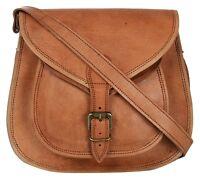 Vintage Women's Adorable Real Leather Handbag Shoulder Bag Satchel Messenger New