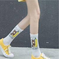 New Cotton Harajuku Banana Sports Tube Socks Hosiery Street Wear Ankle Socks