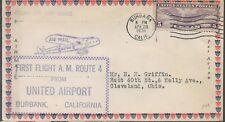 1031 FFC AM 4 Rute United Airport Burbank California