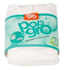 2 x pocket reusable nappies (20-35lbs) WHITE 50% discount