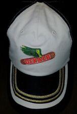 #872 Dekalb Flying Corn Black/Tan Hat/Cap NWOT Adj Back Free Ship