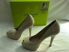 zapato de piel TED BAKER color Nude talla 38