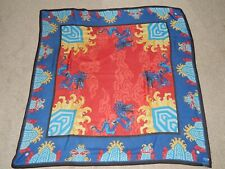 Large Silk Scarf Chinese New Year Dragons